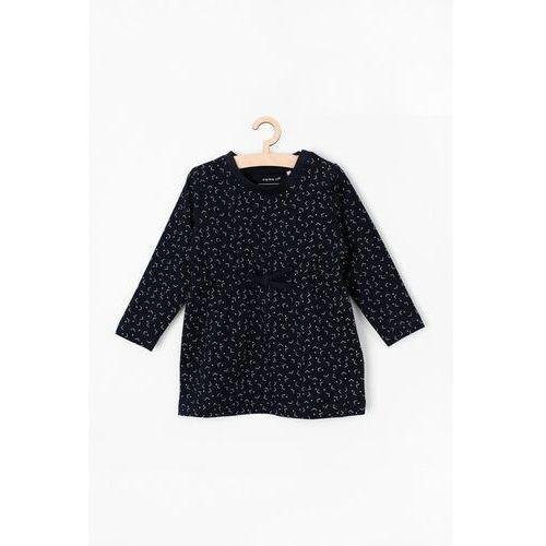 Pozostała odzież niemowlęca, Granatowa sukienka 6K38BB Oferta ważna tylko do 2031-10-21