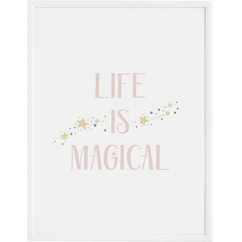 Plakaty, Plakat Life is Magical 70 x 100 cm