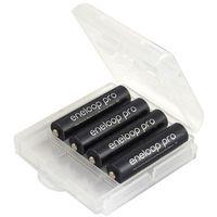 Akumulatorki, 4 x akumulatorki Panasonic Eneloop PRO R03 AAA 930mAh BK-4HCDE (solidny pojemnik)