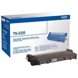 BROTHER Toner Czarny TN2320=TN-2320, 2600 str.- wysyłka dziś do godz.18:30. wysyłamy jak na wczoraj!