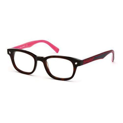 Okulary korekcyjne, Okulary Korekcyjne Dsquared2 DQ5098 52