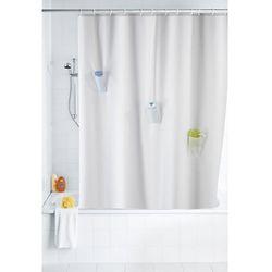 Zasłona prysznicowa Villa, tekstylna, 180x200 cm, WENKO