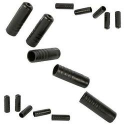 Końcówki pancerza przerzutki ACCENT plast. 4mm x 17mm, 150szt