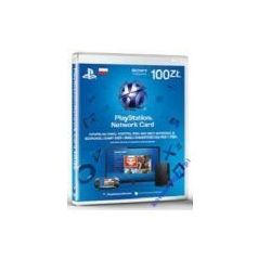 KARTA PLAYSTATION NETWORK 100 ZŁ PSN