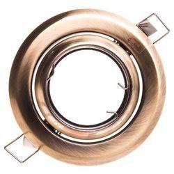 ARGUS CT-2117-BR/M mosiądz antyczny - oczko halogenowe ruchome 50W Kanlux