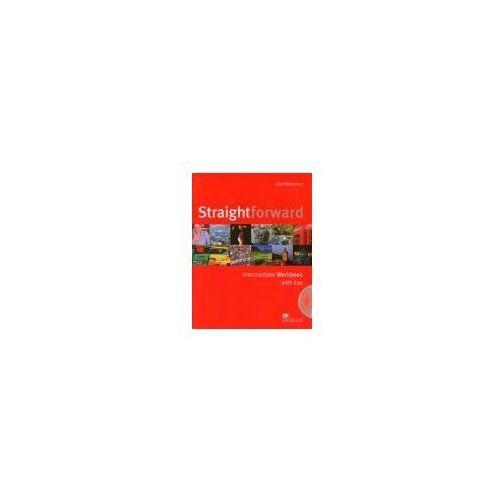 Książki do nauki języka, Straightforward Intermediate Workbook Pack with Key (opr. miękka)