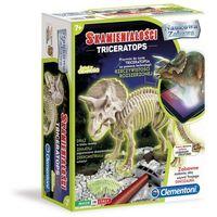 Kreatywne dla dzieci, Naukowa Zabawa: Skamieniałości - Triceratops (60892)