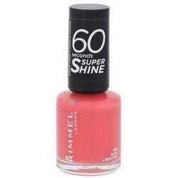 Rimmel 60 Seconds Super Shine lakier do paznokci odcień 405 Rose Libertine 8 ml