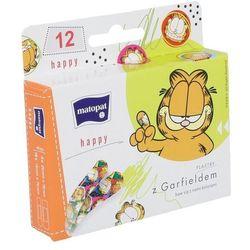 Bella Matopat Happy plastry z Garfieldem 12 szt.