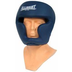 Kask bokserski PU niebieski 3114S Allright