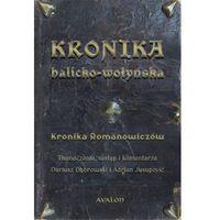Historia, Kronika halicko-wołyńska - Dariusz Dąbrowski, Adrian Jusupovic DARMOWA DOSTAWA KIOSK RUCHU (opr. miękka)