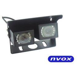 Samochodowa podwójna kamera cofania CMOS II w metalowej obudowie 12V 24V