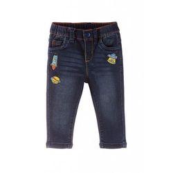 Spodnie niemowlęce jeansowe 5L3506 Oferta ważna tylko do 2019-12-08