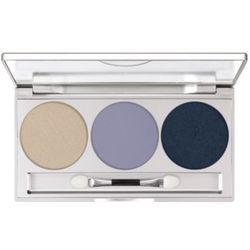Kryolan EYE SHADOW TRIO SET (SMOKEY BLUE) Paleta 3 kolorów cieni do powiek - SMOKEY BLUE (5333)