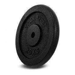 Obciążenie żeliwne Tytan Sport 20 kg