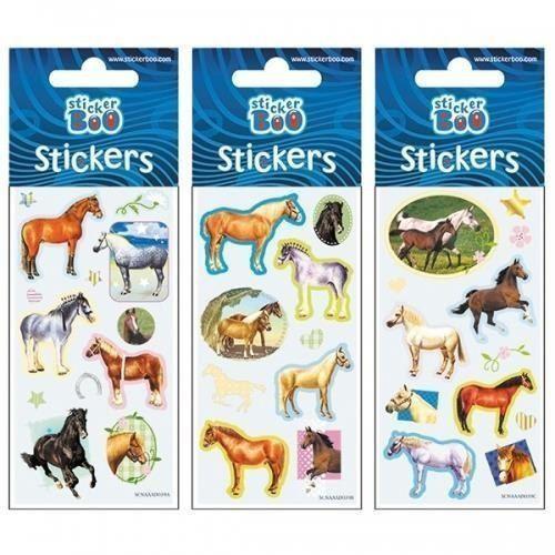 Naklejki, Naklejki Sticker BOO silver konie