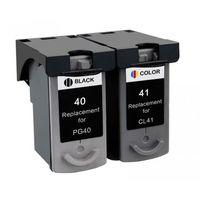 Tusze do drukarek, Komplet tuszy do Canon PIXMA iP1200 iP1600 MP170 PG-40 + CL-41 TD-0615B043