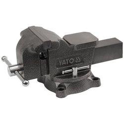 Imadło ślusarskie, obrotowe 200 mm / YT-6504 / YATO - ZYSKAJ RABAT 30 ZŁ