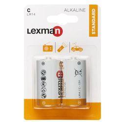 Bateria ALKALICZNA STANDARD LR14/C 2SZT. LEXMAN