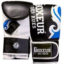 Rękawice bokserskie BOXEUR BXT-5139 (rozmiar S) Czarno-niebieski