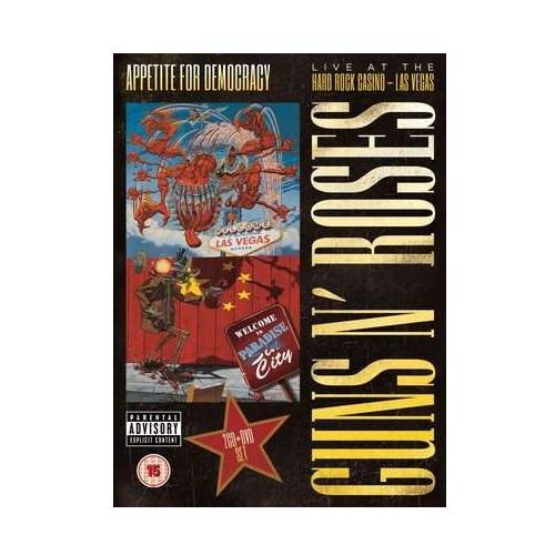 Pop, Appetite For Democracy: Live At The Hard Rock Casino (2cd / Dvd) Deluxe Ltd.