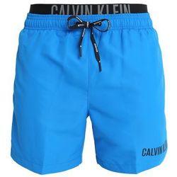 Calvin Klein Swimwear MEDIUM DOUBLE Szorty kąpielowe electric blue lemonade