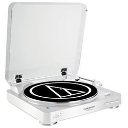 Gramofon Audio-Technica Audio Technica AT-LP60WHBT Fully Automatic Wireless Belt-Drive Stereo Turntable - AT-LP60WHBT Darmowy odbiór w 19 miastach!