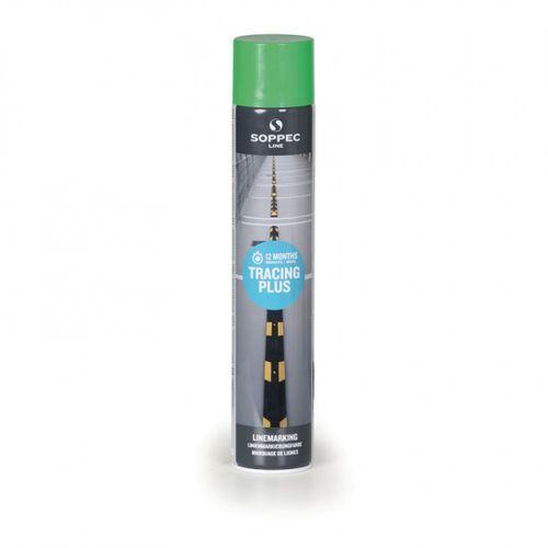 Farby, Farba w sprayu TRACING PLUS do malowania linii i pasów, 750 ml, zielona