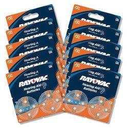 Rayovac baterie do aparatu słuchowego typ 13 (80 szt.) - produkt w magazynie - szybka wysyłka!