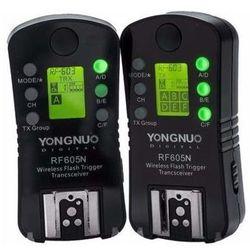 Wyzwalacz radiowy YONGNUO RF605N - Nikon (2 sztuki)
