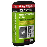 Wylewki, Wylewka betonowa MOCNY BETON B-20 25+5 kg AXTON