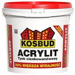 Kosbud tynk akrylowy baranek 1,5 biały 25kg
