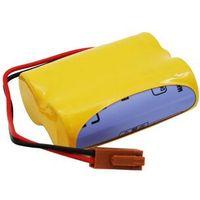 Baterie, Bateria BR-ACF2P BR-AGCF2W A06B-0177-D106 A98L-0031-0011 6.0V z wtyczką Fanuc BRACF2P BRAGCF2W A06B0177D106 A98L00310011