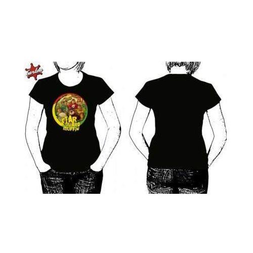 T-shirty damskie, Szanuj (xl * Czarna * Koszulka Damska)