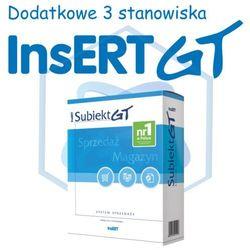 InsERT Subiekt GT - rozszerzenie na dodatkowe 3 stanowiska