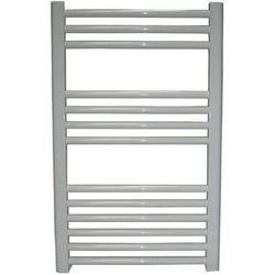 Grzejnik łazienkowy Wetherby wykończenie proste, 400x800, Biały/RAL -