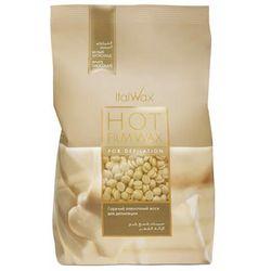 ItalWax White Chocolate - wosk twardy w granulkach do depilacji bezpaskowej niskotemperaturowy 500g