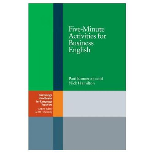 Książki do nauki języka, Five-Minute Activities For Business English. Cambridge Handbooks For Language Teachers (opr. miękka)