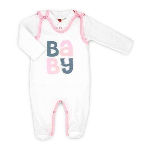 Wyprawki dla dzieci, Komplet niemowlęcy śpioszki i kaftanik Kolekcja Baby