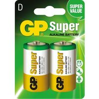 Baterie, Baterie alkaliczne GP Super Alkaline LR20/D (blister)