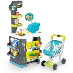 Smoby sklep dla dzieci Citymarket, szaro-zielony - BEZPŁATNY ODBIÓR: WROCŁAW!