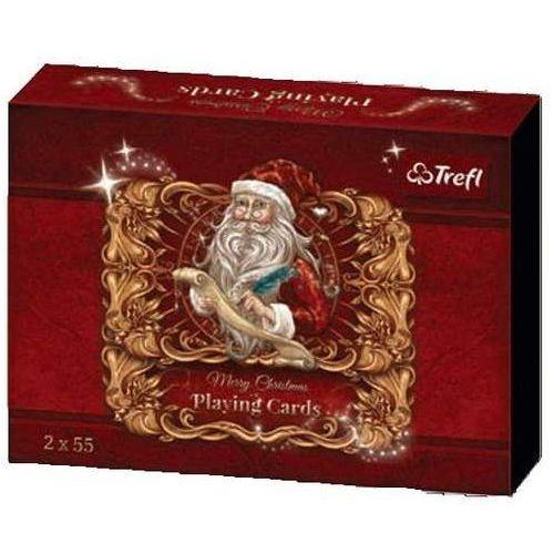 Gry dla dzieci, Karty Trefl - Świąteczne - Trefl