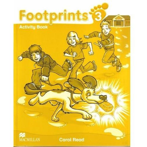 Książki do nauki języka, Footprints 3 WB MACMILLAN - Carol Read (opr. miękka)