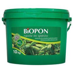 Nawóz do iglaków Biopon granulat 10 kg