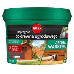 ALTAX- impregnat do drewna ogrodowego, orzech, 10 l