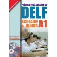 Książki do nauki języka, DELF Scolaire & Junior A1, podręcznik + CD (opr. broszurowa)