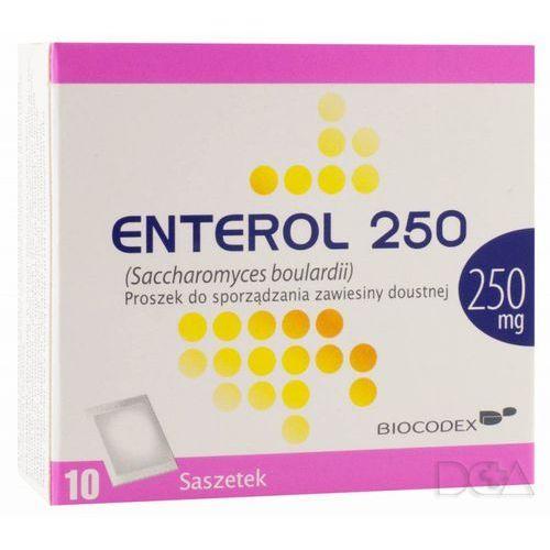 Leki na biegunkę, Enterol 250 prosz.do sp.zaw.doust. 0,25 g 10 sasz.
