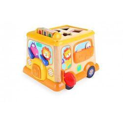 Brimarex Autobus drewniany edukacyjny