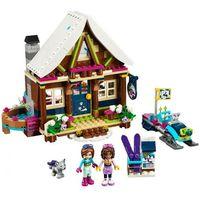 Klocki dla dzieci, 41323 GÓRSKI DOMEK (Snow Resort Chalet) KLOCKI LEGO FRIENDS