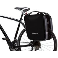 Sakwy, torby i plecaki rowerowe, Sakwy CROSSO Dry Big Adventure czarny / Montaż: tył / Pojemność: 60 L